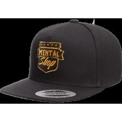 Кепка MentalShop - Classic Snapback Black Logo