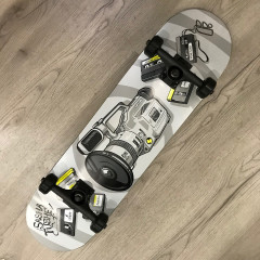 "Скейтборд Footwork Carbon Tushev 1000 8.0"""